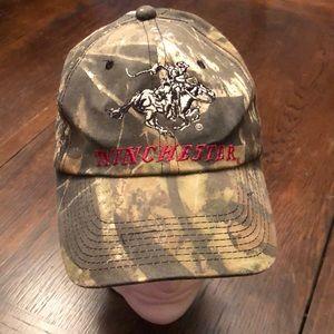 🤠 Winchester Camo Hunting Dad Hat Strapback Cap